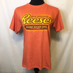 Reese's Chocolate Graphic T Shirt SOFT Size S